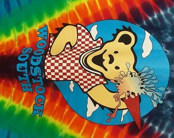 "Unique ""Grateful Dead"" Ice Cream Bear Tie Dye. All Different!!!!"