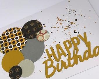 Male birthday card, card for teen, boyfriend card, card for him, happy birthday card, teen boy card, birthday card, card for dad, dad card