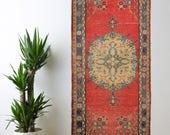 RESERVED Turkish Rug Oushak Decorative Handwoven Rug Turkish Antique Rug 3.3 ft x 6.8 ft F-149