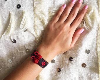 Moroccan Bracelet, Blue Bracelet, Moroccan Jewelry, Boho Cuff, Gypsy vibes, Boho Jewelry, Summer bracelet - US free shipping