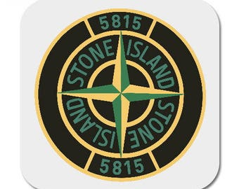 Stone island Printed Mug Coaster Coasters . football casual casuals