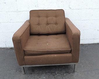 Mid Century Modern Vintage Retro Chrome Side Chair 7471