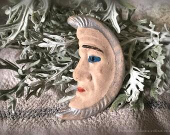 vintage tragacanth moon xmas tree ornament brocante extraordinary xmas decoration