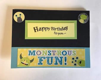 Monster Fun Birthday Card!