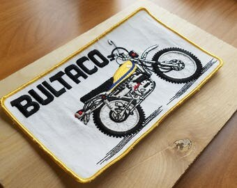 Butalco 1970s Vintage Motorcycle Patch