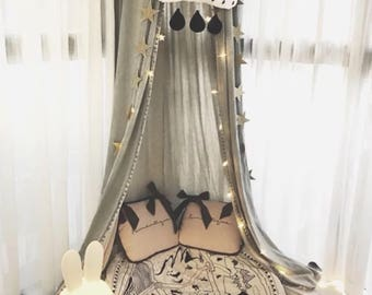 Canopy for nursery, play canopy for kids, tent, home decor , hanging canopy, play room decor, bedroom canopy