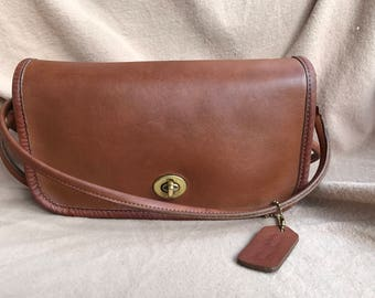 Vintage Coach Small Crossbody Made in USA  0395-148