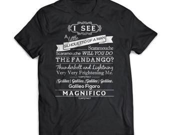Bohemian Rhapsody   Random    Rock   Gift   Shirt   T-Shirt   Random    Rock Shirt