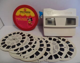1970's Vintage Viewmaster w/ Disney Slides (Free Shipping!)