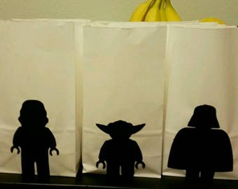 Star Wars Lego Candy bags (set of 12)