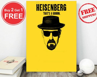 Breaking Bad-Breaking Bad Tv Series-Breaking Bad Poster-Breaking Bad Print-Room Decoration-Metal art-Wall Art-Nerd Gift-Fans Gift-Wall Decor