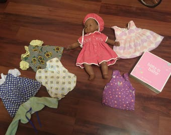 American Girl Bitty Baby lot + clothes authentic  + handmade