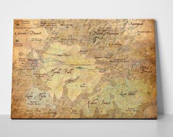 Legend of Zelda, Map of Hyrule