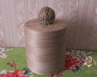 Jute thin . Jute yarn, Weight 5 kg (11,025 LB) .
