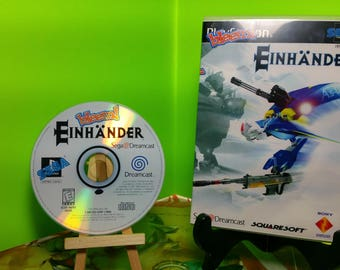 Einhander Bleem!ed reproduction case art and Free Disc with custom art and rom files