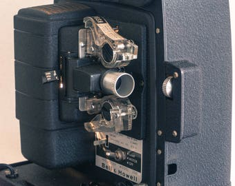 Vintage Bell & Howell Model 256 AB 8mm Movie Projector // Chicago