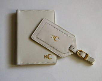 Personalized Passport Covers,Bridesmaids Gift,Destination Wedding Gif,RFID Passport Cover,Wedding Gift,Mr and Mrs Gift,Anniversary Gift
