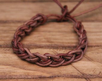 Leather bracelet 2 colors