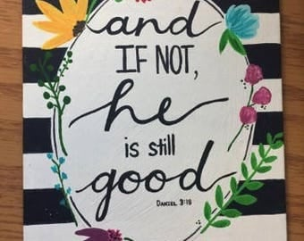 Bible Canvas Quote