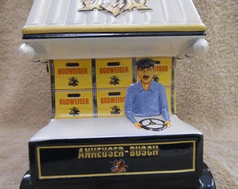 1998 Anheuser Busch Members Only Stein Early Delivery Days