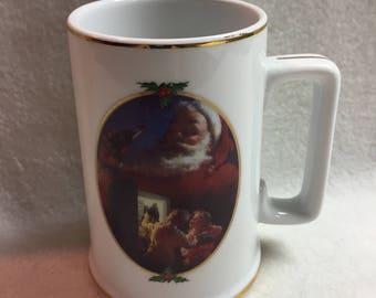 Coca Cola 'For Santa' Collector Mug (#017)