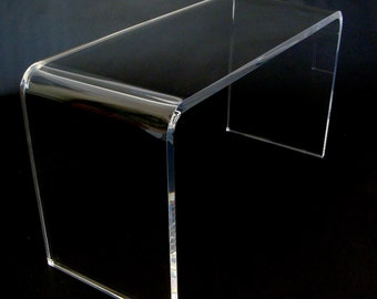 Plexiglass table with bridge thickness 10 mm