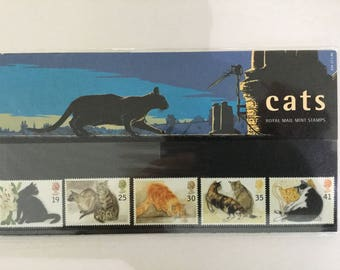 Cats Royal Mail Mint Stamps Presentation Pack 1995