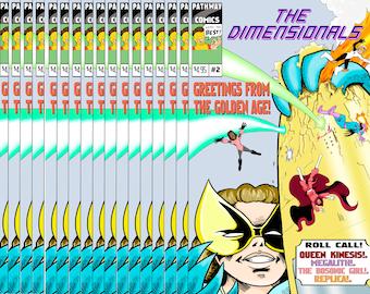 The Dimensionals #2 Digital Download