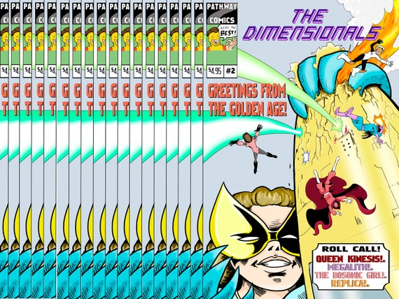 Digital Download of The Dimensionals #2