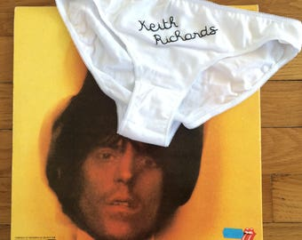 "Groupie Panties - ""the Rock Stars"" - Keith Richards"