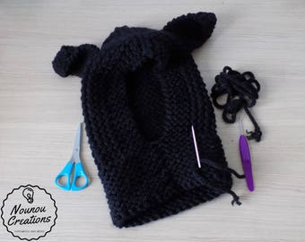 Balaclava with ears-adult-ready delivery
