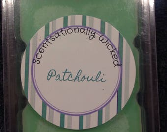 Patchouli scented candle melts
