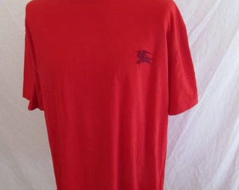 Burberry red Size XXL T-shirt with-71%