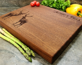 "Personalized Chopping Block 12x15x1.75"" - Engraved Butcher Block, Custom Chopping Block, Housewarming Gift, Wedding Gift #40"