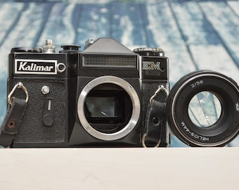 Vintage Kalimar EM 35mm SLR film camera