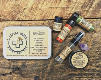 A Little Herbal First Aid Kit
