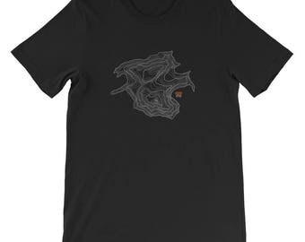 Denali Tee | Men's Denali Mountain Peak Tshirt | Mountain Tshirt | Men's Tshirt | Mountain Apparel | Denali Peak | Alaska | Alaska Apparel