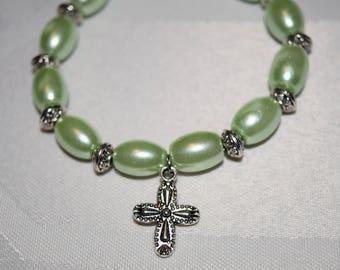 Light Green Hope Bracelet