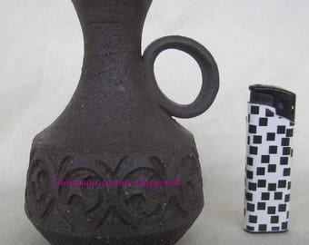 Handled vase by the famous danish pottery of Lovemose,