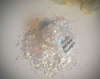 Glow Mylar Flake Festival Nail art Glitter Pot