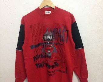 Vintage 90's Kansai Impact By Kansai Yamamoto Sweatshirts