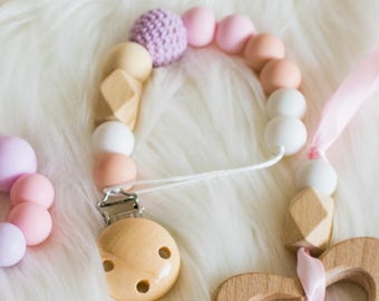 dummy chain/ silicone  beads dummy clip