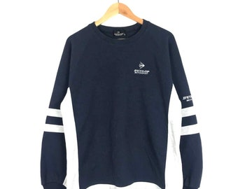 Rare!! Vintage Dunlop Motorsport Sweatshirt Medium Size