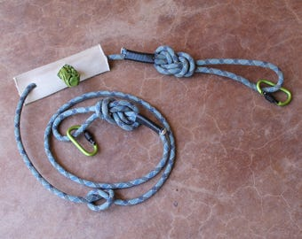 Upcycled Climbing Rope Dog Leash - 6ft