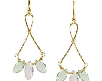 Petite Alessandra Drop Earrings