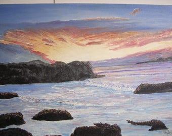 California Sunset  0668  ronmyersartist