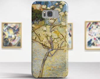 "Vincent van Gogh, ""Small Pear Tree in Blossom"".Samsung Galaxy S7 Case LG G6 case Huawei P10 Case Galaxy J5 2017 Case and more."