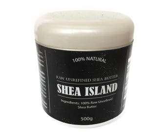 Unrefined Organic Shea Butter - 500g