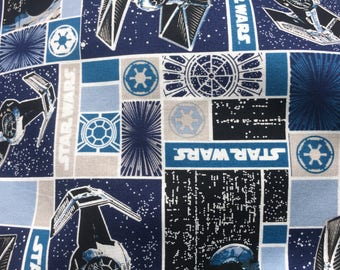 Spacecraft star wars etsy for Space mission fabric