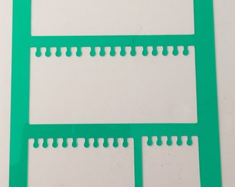 Notepaper Stencil **Introductory Price!!**